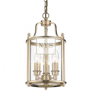 Lampa Latarnia South Beach Medium Gold