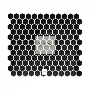 Mozaika Hexagon Black