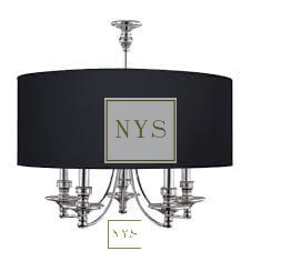 Lampa New York Black